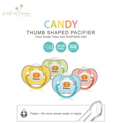 Simba Candy Thumb Shape Pacifier 6m+