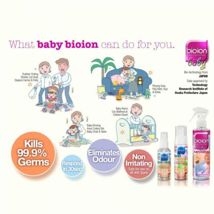 Bioion Hand & Body Sanitizer 60ml