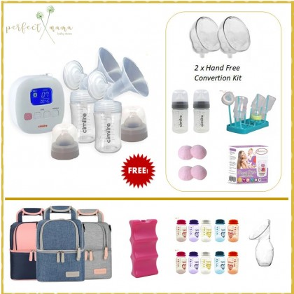 Cimilre F1 Double Electric Rechargeable Breastpump