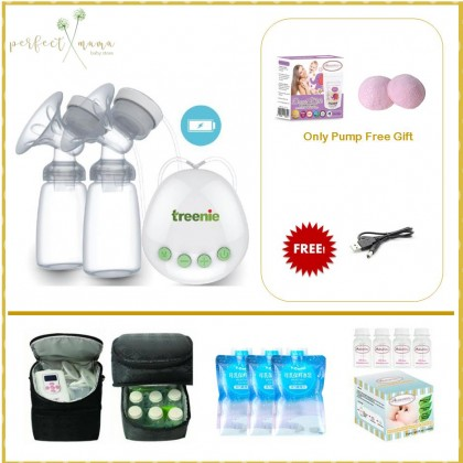 Treenie Konvito Rechargeable Double Electric Breastpump