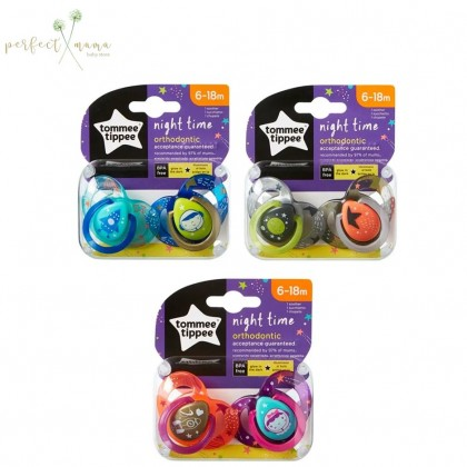 Tommee Tippee Night Time Soother 6-18m