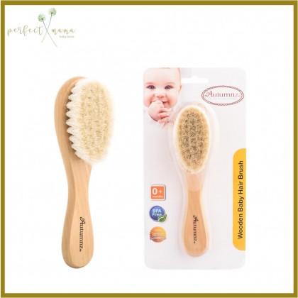 Autumnz Wooden Baby Hair Brush