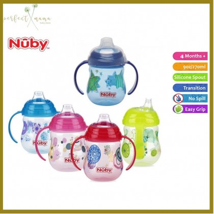Nuby Designer Pinpoint 2 Handle Clik It Trainer Cup 9oz/270ml