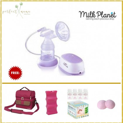 Milk Planet Cube Single Electric Breast Pump