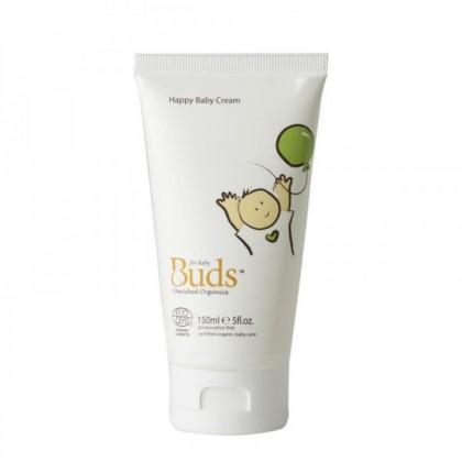 Buds Cherished Organics Happy Baby Cream 150ml